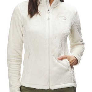 The North Face Women's White Fleece Jacket